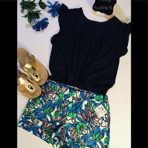 ZARA BASIC short woman multicolored summer cool